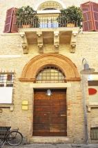 Medieval door, Ravenna