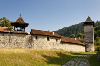 Wall of Studenica Monastery