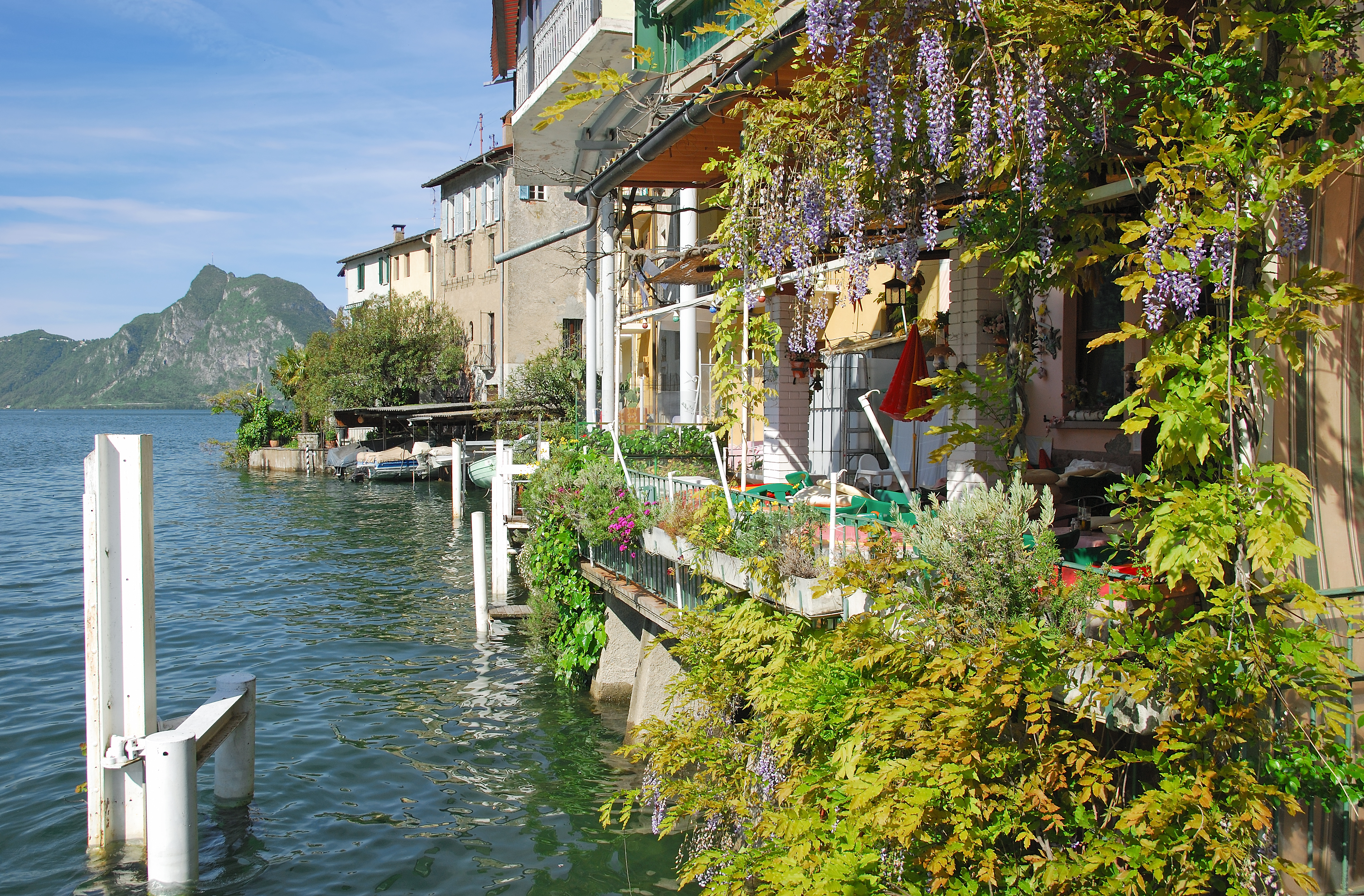 Lake Lugano Hotels Italy