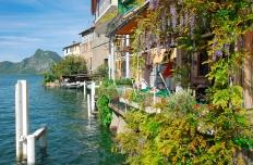 Gandria,Lake Lugano,Switzerland