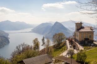 Monte Brè - high above Lake Lugano