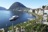 The lake of Lugano