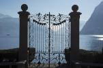 Gate over Lake Lugano