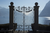Gate over Lake Lugano