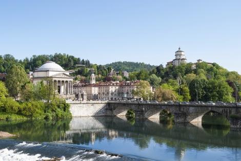 Along the Waterfron -- Turin, Italy