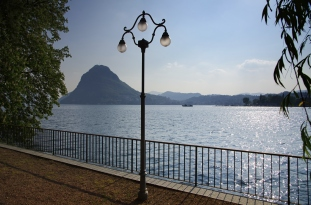 Alpine Lake Lugano