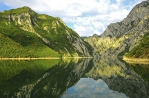 Lake Komani, Albania