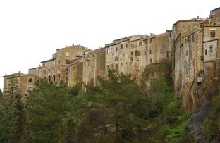 Pitigliano in Italy