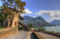 Road to Lake Lugano
