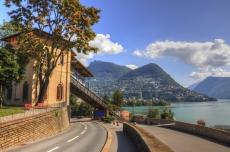 Road to Lake Lugano