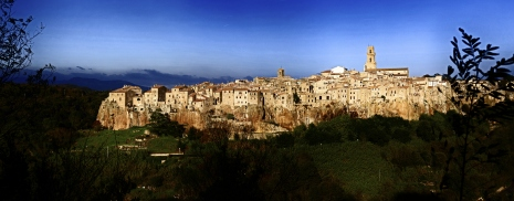 Italian City of Pitigliano