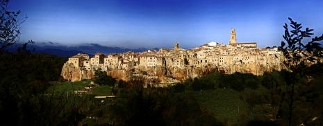 Italian City of Pitigliano