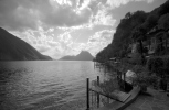 Summer hike from Gandria to Lugano (Ticino, Switzerland)