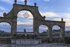 medieval Italian town of Pitigliano