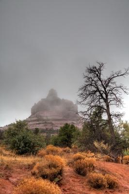 Rain over Red Rocks