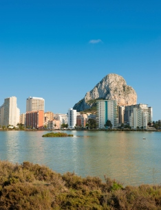 Calpe from the Harbor