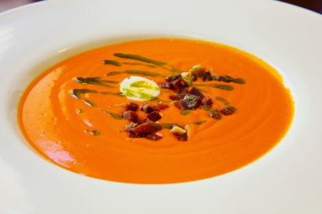 salmorejo cordobes Traditional Andalusian Dish
