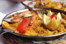 Spanish paella in Calpe