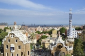 Park Guell From Above