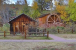Old mill water wheel at Red Rock Crossing in Sedona