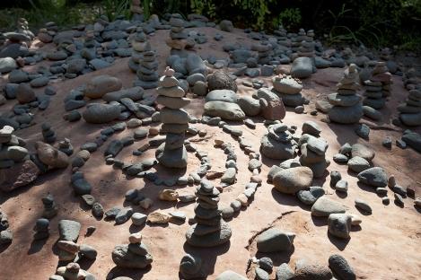 Rock Temples at Sedona Vortex