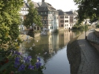 Waterway, Strasbourg, France