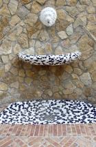 Plaza del Mosquit (Fountain detail). Calpe, Costa Blanca, Spain