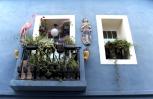 Calpe. Mediterranean Spanish coastal city historic old town center
