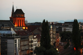 Evening Strasbourg