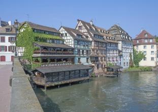 La Petite France,Strasbourg,Alsace