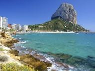 Beach in Calpe, Spain