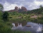 Rock formations at Cathedral Rock, Near Sedona, Arizona, USA