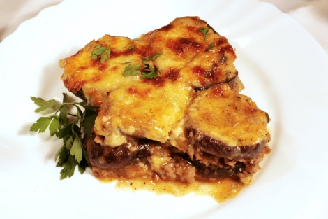 Moussaka Traditional Greek Dish