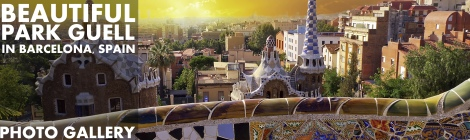 Park Guell Barcelona Photo Gallery