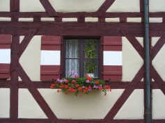 Window in Nuremberg, Germany