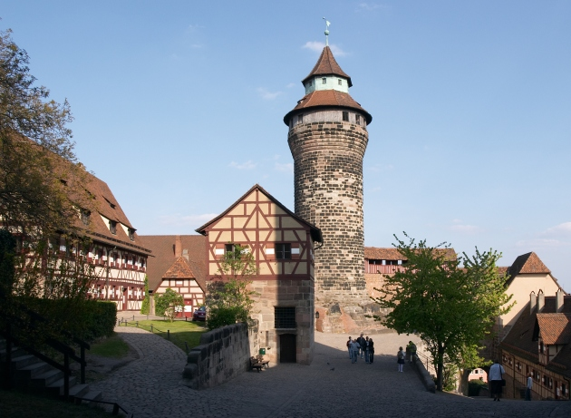 Medieval Castle in Nuremberg Germany