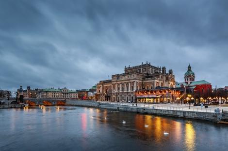 Stockholm Sweden Canal City