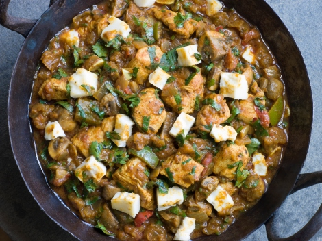 Best Traditional Indian Dishes Chicken and Paneer Balti