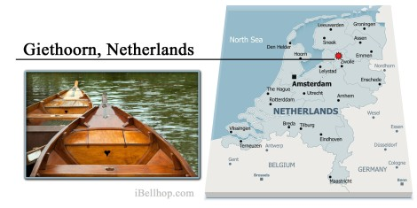Giethoorn Netherlands Map International Bellhop
