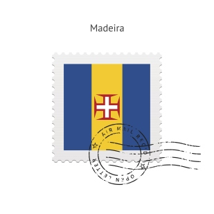 Madeira Flag Postage Stamp