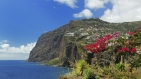 Cliff Cabo Girao at southern coast of Madeira (Portugal)