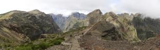 Hiking Trail near Pico do Arieiro (Madeira)