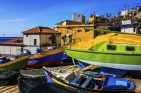 Traditional Portuguese Fishing Boats, Madeira