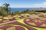 Botanical garden of Funchal at Madeira Island, Portugal