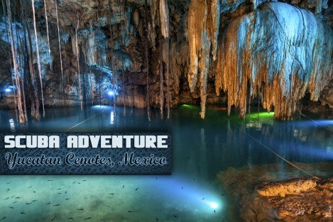 cenotes cave diving