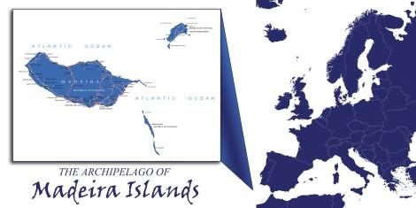 Madeira Archipelago Map