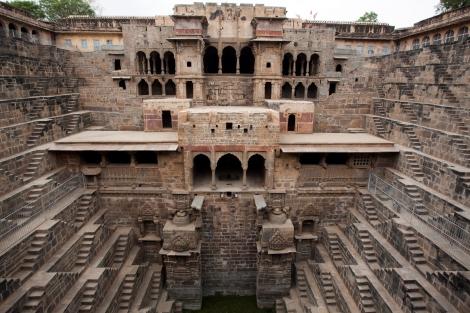 Le chand baori d'Abhaneri au Rajasthan 101814793