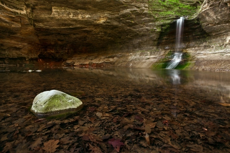 Starved Rock Waterfall
