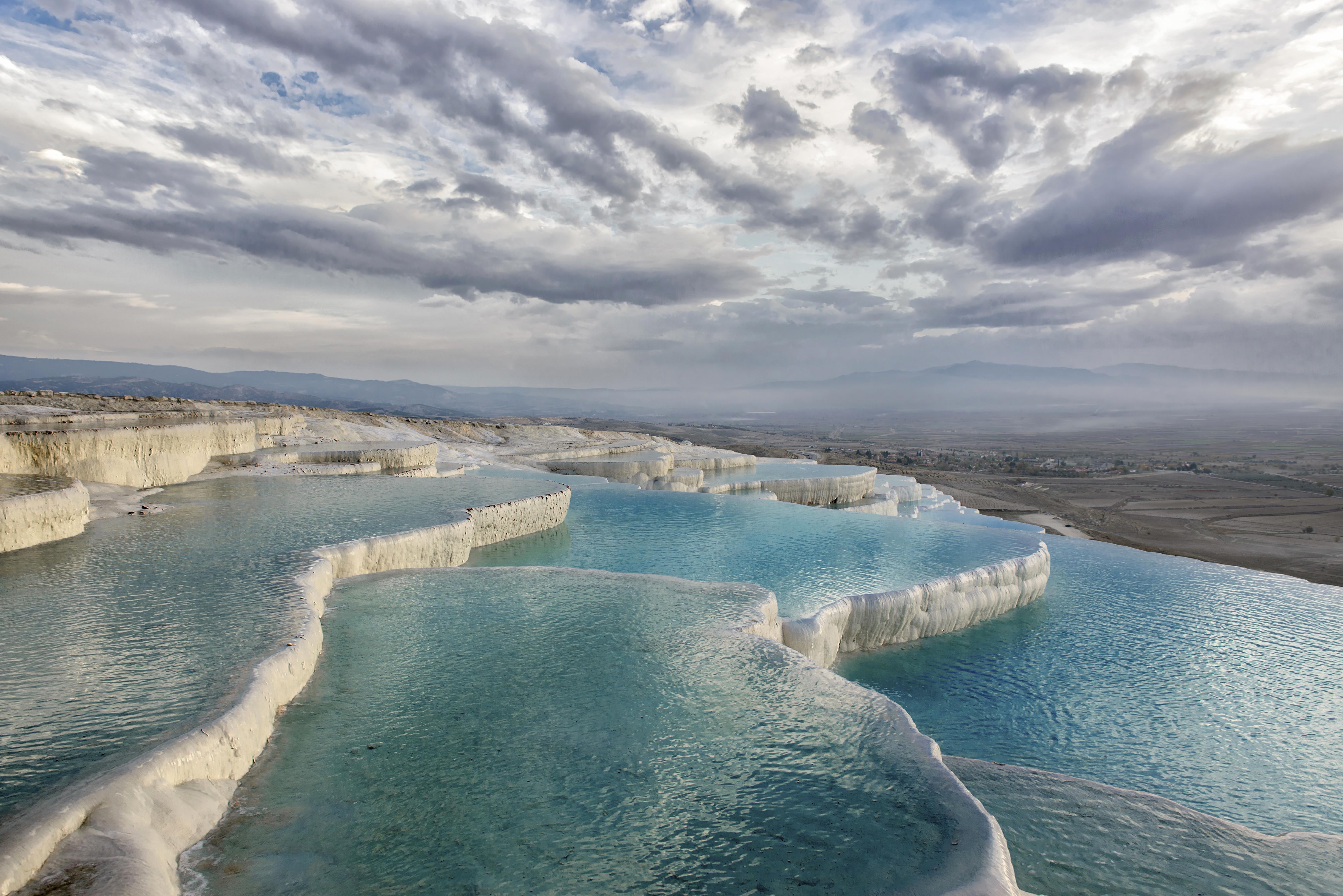 Objek Wisata Pamukkale, di Turki
