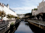 Canal in Karlovy Vary